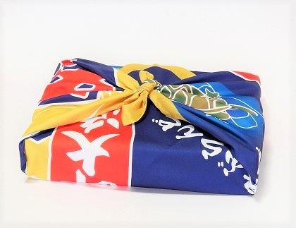 AI09-16【藍島】関門たこづくしセット(大漁旗のふろしき付き)