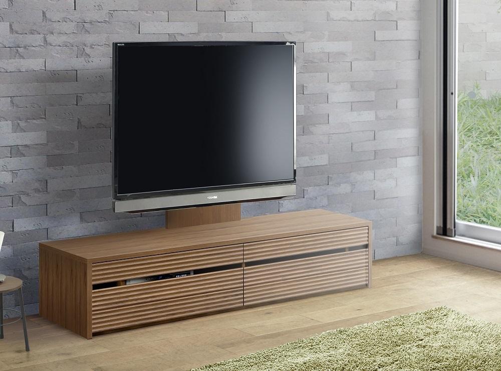 ◆天然木無垢材家具コリーナ(ローボードテレビ台・TVボード)★130cm:オークダーク