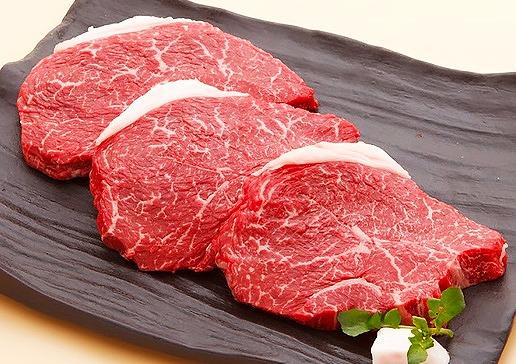 【冷蔵便】神戸牛柔らか赤身ステーキ 200g×3枚