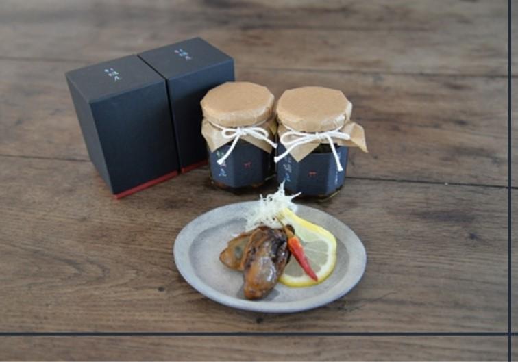 牡蠣屋のオイル漬け(化粧箱入り)2個
