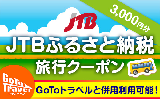 【那智勝浦・白浜】JTBふるさと納税旅行クーポン(3,000円分)