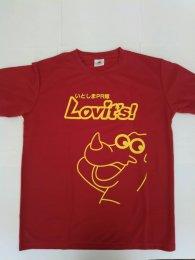 いとしまPR隊 オリジナルTシャツ 赤色・XLサイズ
