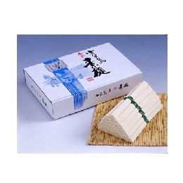 銀四郎の手延素麺『国内産小麦100%」
