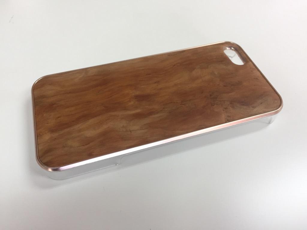 iphonese,5,5s用天然木ジャケット【吉野杉バール】