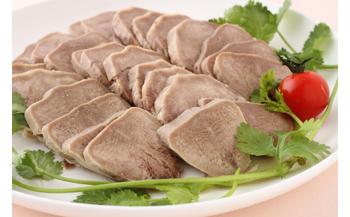 【豚タンの特製タレ漬け】日本初上陸-伝統中国料理-鹵菜(ルサイ) 真空パック185g