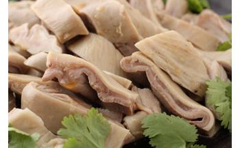【豚ガツ(胃袋)の特製タレ旨煮】日本初上陸-伝統中国料理-鹵菜(ルサイ) 真空パック185g