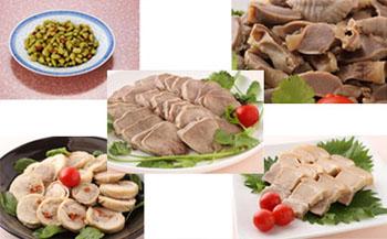 上海料理の名物糟鹵菜【5点セット】