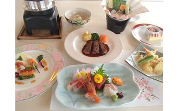【マリンロッジ海風館】1泊2食付またたきプランペア券(2名様)