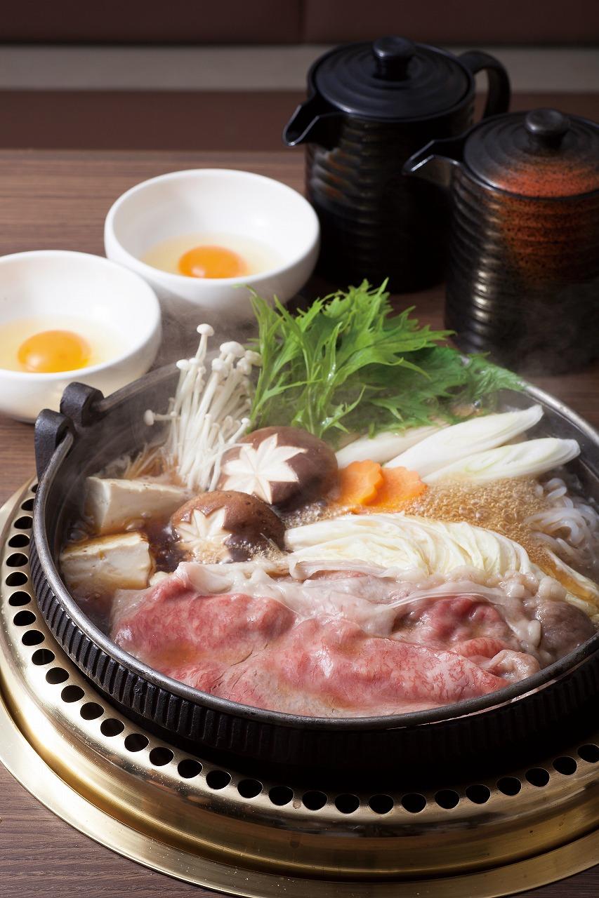 日本三大銘柄牛食べ比べすき焼用スライス肉