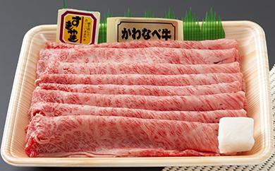 かわなべ牛 カタロース800g
