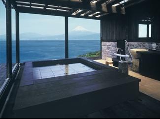 藍の詩特別室 紺碧の富士