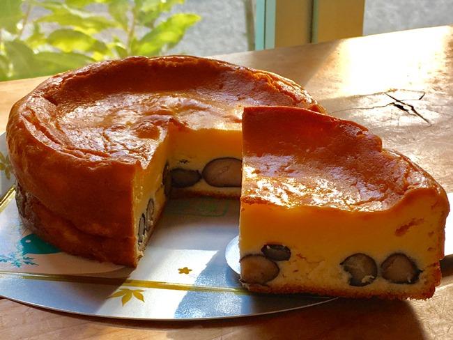 五つ星兵庫認定丹波黒豆のチーズケーキ