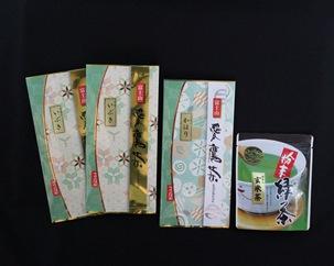 愛鷹茶 深蒸し煎茶いぶき・深蒸し煎茶かほり・粉末玄米茶