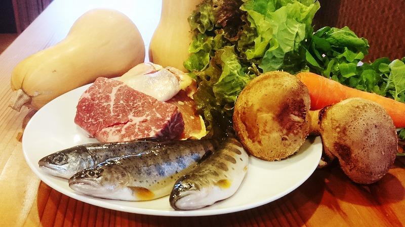 お山の有機野菜レストラン「だっぱん屋」スペシャルランチお食事券ペア