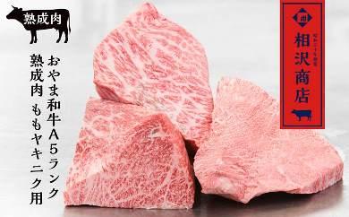 【熟成肉】【最上級A5ランク和牛熟成肉】モモ肉ヤキニク用400g