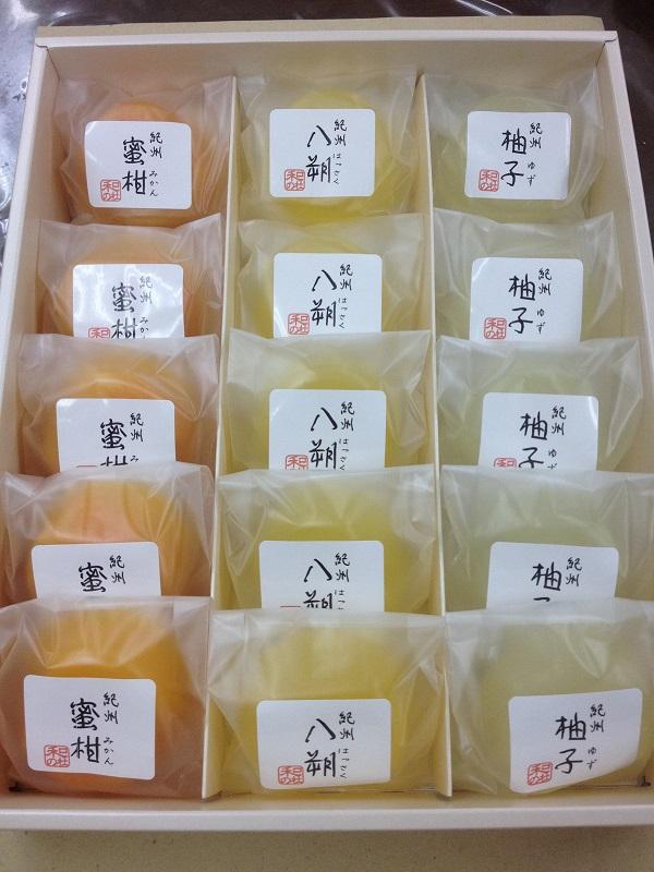 和歌山ゼリー「柑橘三味」