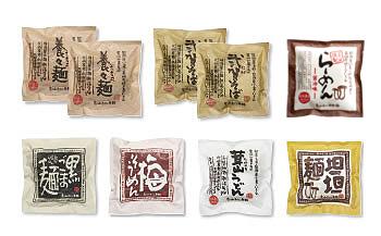 UN03-C 『島原・雲仙特産』手延べ麺(即席タイプ)具材付き詰め合せ 特別セットC