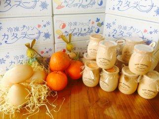 魔法のプリン カタラーナとオレンジカタラーナセット