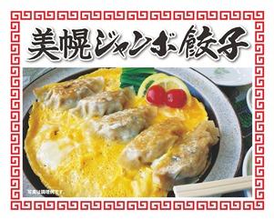 <限定>美幌の美味しさがぎゅっと詰まった「美幌ジャンボ餃子」