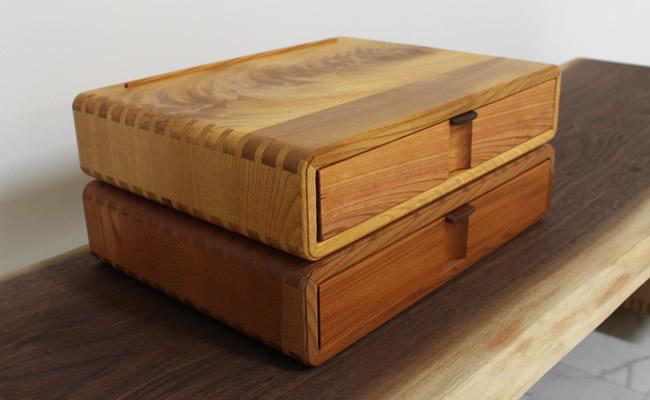 小箱 欅(ケヤキ)の木