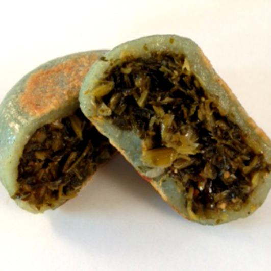 魚沼コシヒカリを使った手作りあんぼ大根菜5個入り2箱
