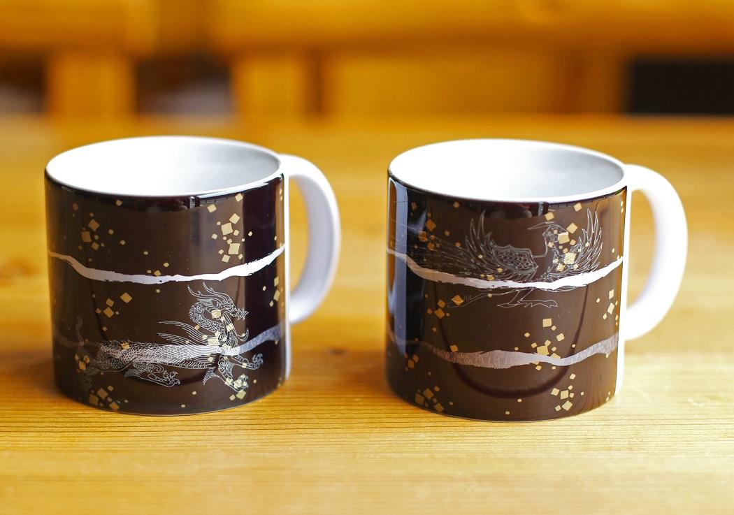 四神ペアマグカップ
