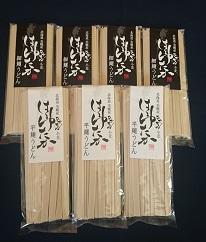 大人気の北海道小麦使用「はるゆたかうどん 平麺&細麺」