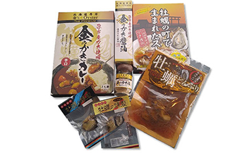 厚岸牡蠣加工品セット