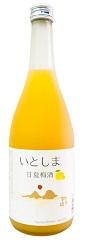 糸島産甘夏使用!旬の今だからこそ飲める新鮮で贅沢なリキュール★いとしま甘夏梅酒(リキュール)★