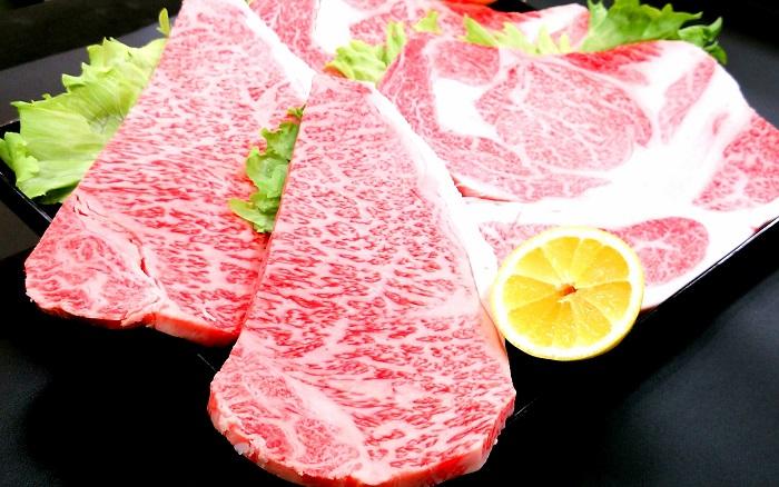 都城産宮崎牛ステーキ Bセット(リブ・サーロイン)
