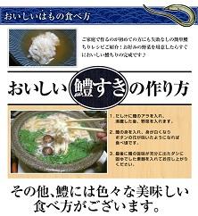 【若男水産】淡路島べっぴん鱧活鱧すきセット(4人前)