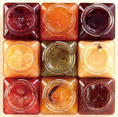 人気No.1マンハッタンブラウニー5個とケークオリジンヌ抹茶とジャム2個のセット