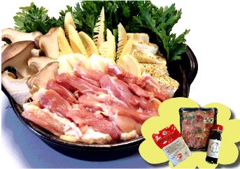 京都鶏すき 地鶏丹波黒どり鍋セット