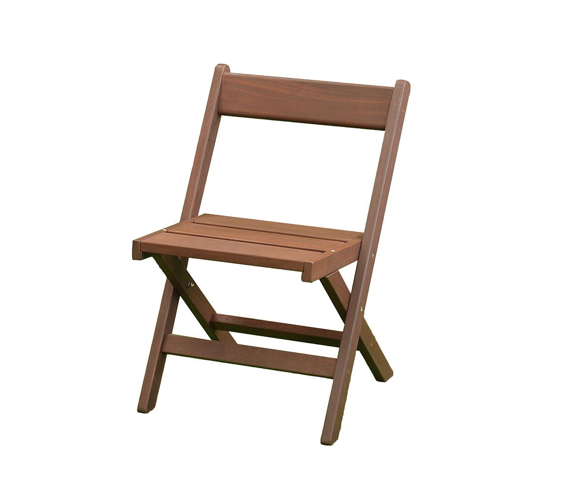 コアラ大好きユーカリ系木材ジャラを使ったテラスチェア
