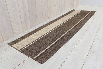 幅広キッチンマット60×180cm【ショコラ】ブラウン