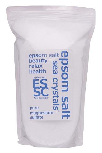 話題の入浴剤エプソムソルトシークリスタルス 4.4kg(2.2kgX2)