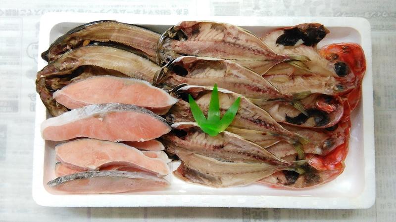 153-076-Cひもの、銀鮭セット