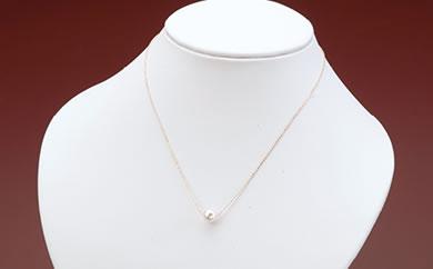 真珠品評会入賞常連のオーハタパールが作る海の宝石 アコヤ真珠プチネックレス(PG)