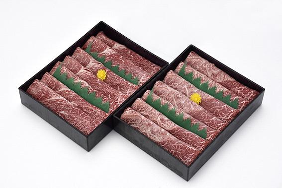豊後牛【頂】すき焼、しゃぶしゃぶ 700g×2セット