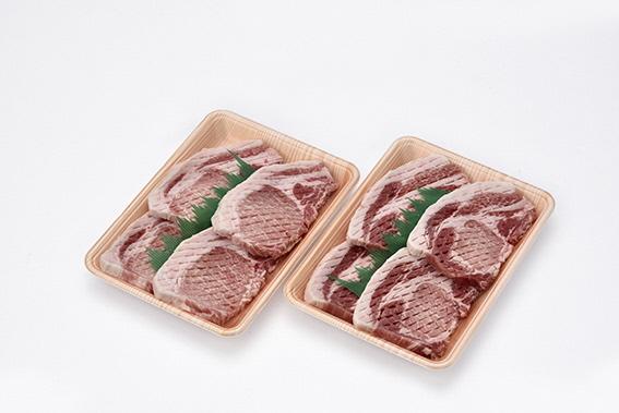 ブランド豚 おいも豚とんかつ用 100g×4枚×2P