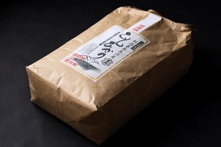 【玄米】自然農法/化学肥料不使用の南魚沼産こしひかり10kg