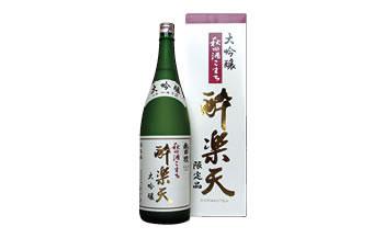 大吟醸 秋田酒こまち酔楽天(720ml)