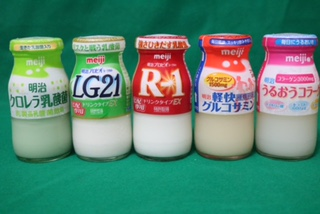 明治 健康ドリンク5種類【R-1 LG21 グルコサミン コラーゲン クロレラ】