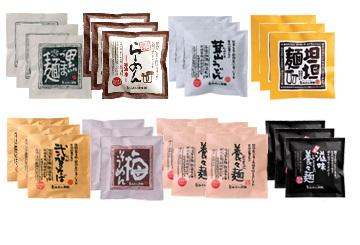『島原・雲仙特産』手延べ麺(即席タイプ)具材付き詰め合せ 特別セットA