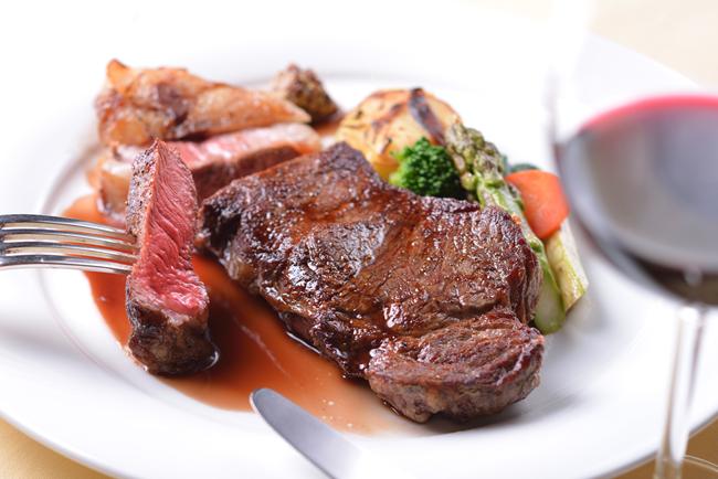 豊西牛熟成厚切ステーキ(ロース)チルドパック2枚セット