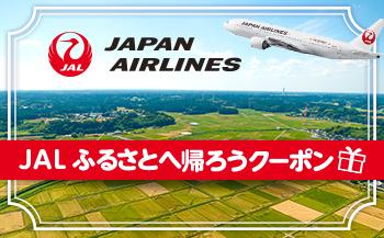 【秋田市】JALふるさとへ帰ろうクーポン(3,000点分)
