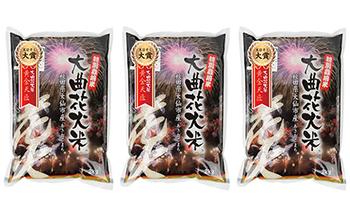 JA秋田おばこ「大曲花火米黄金天匠(玄米)6kg」