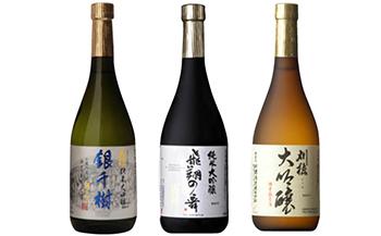 「ワイングラスでおいしい」出羽鶴・刈穂豪華3本セット