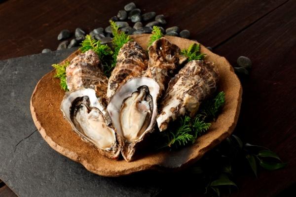 D004-C2018年発送海峡育ち「知内産殻付牡蠣12個入り」<上磯郡漁業協同組合>【60pt】