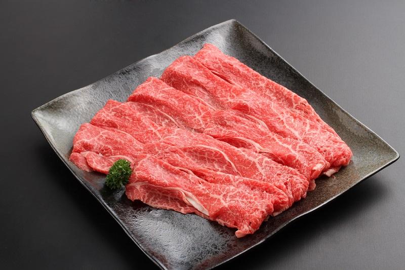 淡路ビーフ(神戸ビーフ)A4ランク すき焼き用モモバラ肉 500g